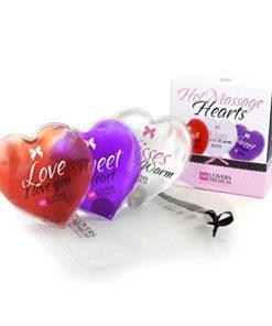 Corações de Massagem Hot (3 unidades) LoversPremium E22007