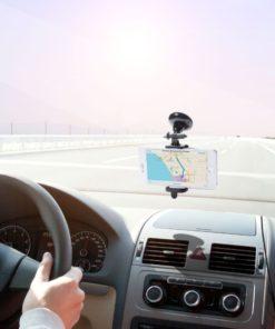 Suporte de Telemóveis para Automóvel com Ventosa 144896