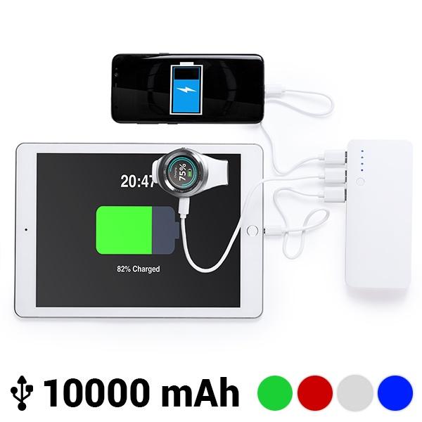 Power Bank com Tripla USB 10000 mAh 145779