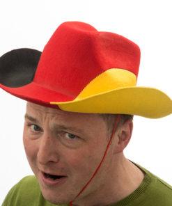 Chapéu de Cowboy Bandeira da Alemanha