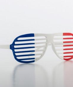 Óculos Persiana Bandeira da França