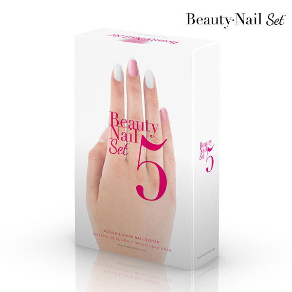 Polidor de Unhas Beauty Nail Set 5