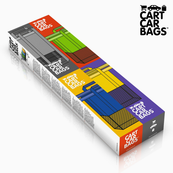 Sacos Organizadores para as Compras e Mala Cart Car Bags (pack de 4)