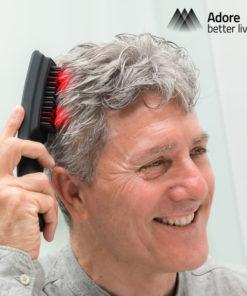 Escova Massajadora Antiqueda com Laser Hair·Force One
