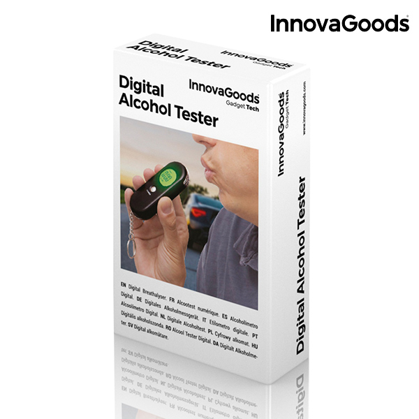 Alcoolímetro Digital InnovaGoods