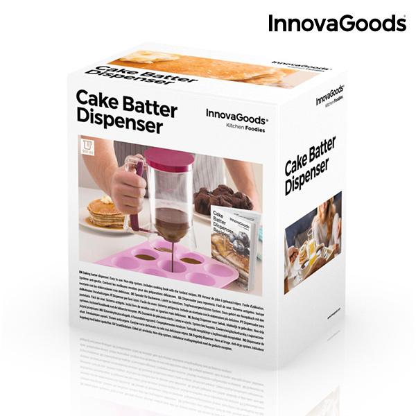 Caneca Dispensadora de Confeitaria com Livro de Receitas InnovaGoods