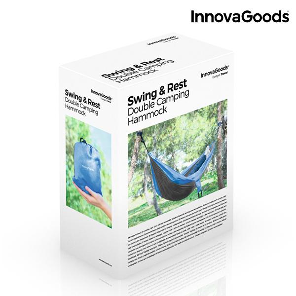 Rede Dupla para Campismo Swing & Rest InnovaGoods