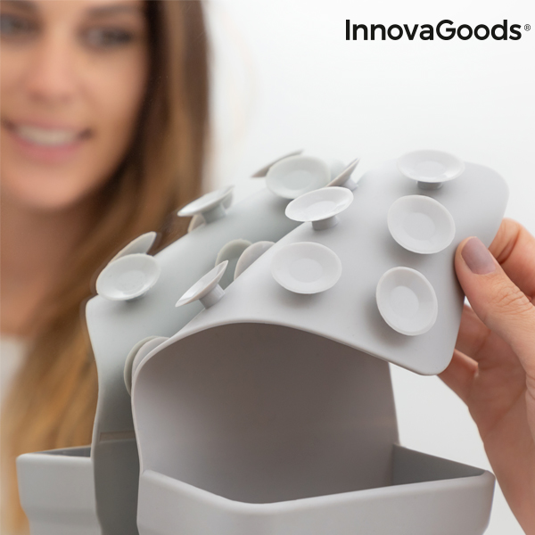 Suporte Organizador de Silicone com Ventosas InnovaGoods