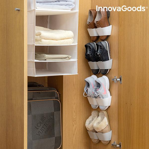 Suportes para Sapatos Adesivos InnovaGoods (4 Pares)