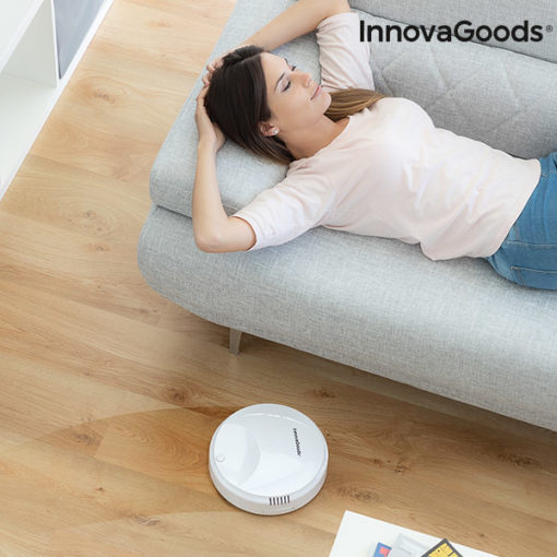 Robot Aspirador Inteligente Rovac 1000 InnovaGoods Branco