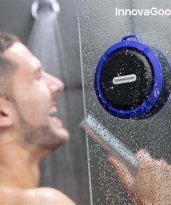 Coluna Bluetooth Sem Fios Portátil Waterproof DropSound InnovaGoods