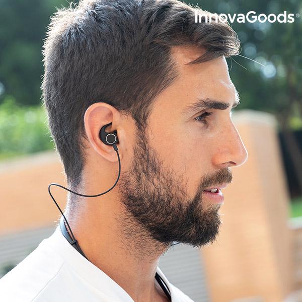 Auriculares Magnéticos Sem Fios Desportivos InnovaGoods