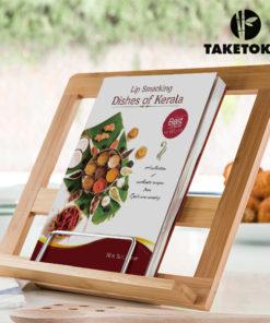Atril de Cozinha em Bambu TakeTokio