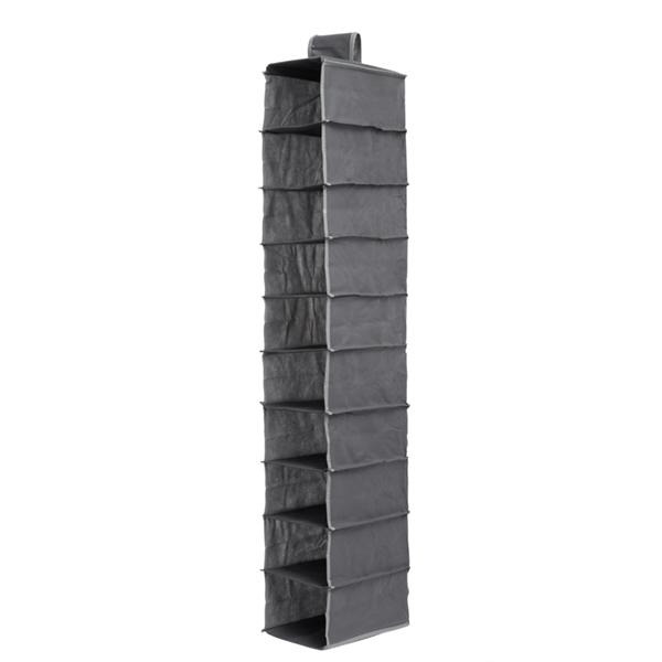 Organizador de Tecido para Pendurar (10 compartimentos)