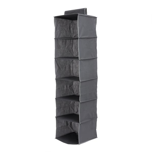 Organizador de Tecido para Pendurar (6 compartimentos)