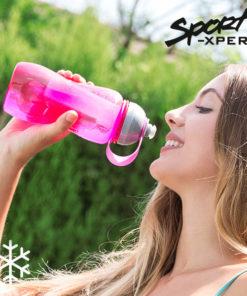 Garrafa de Plástico com Arrefecedor Sport Xpert