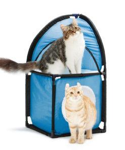Tenda de Jogos para Gatos