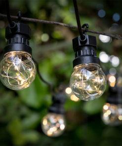 Grinalda LED Bulbos (50 LED)