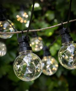 Grinalda LED Bulbos (100 LED)