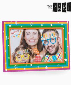 Acessórios de Aniversário para Fotos Divertidas Th3 Party (Pack de 5)