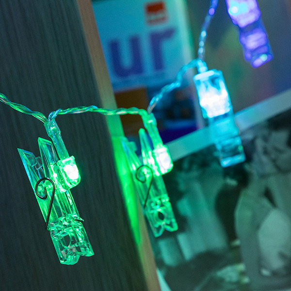 Grinalda LED Molas para Fotos (16 LED)