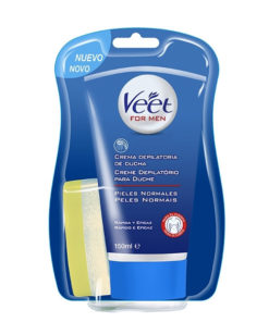 Creme Depilatório de Duche para Homem Veet Pele Normal 150 ML