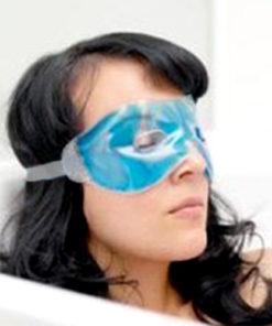 Máscara de Gel Relaxante para os Olhos com Buracos