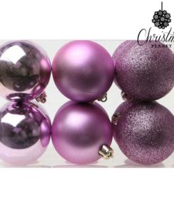 Bolas de Natal Christmas Planet 8251 6 cm (12 uds) Roxo