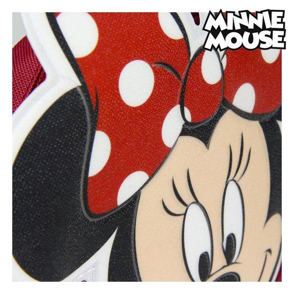 Mala a Tiracolo 3D Minnie Mouse 72882 Vermelho