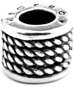 Miçangas femininas Viceroy VMM0226-00 Prateado (1 Cm)