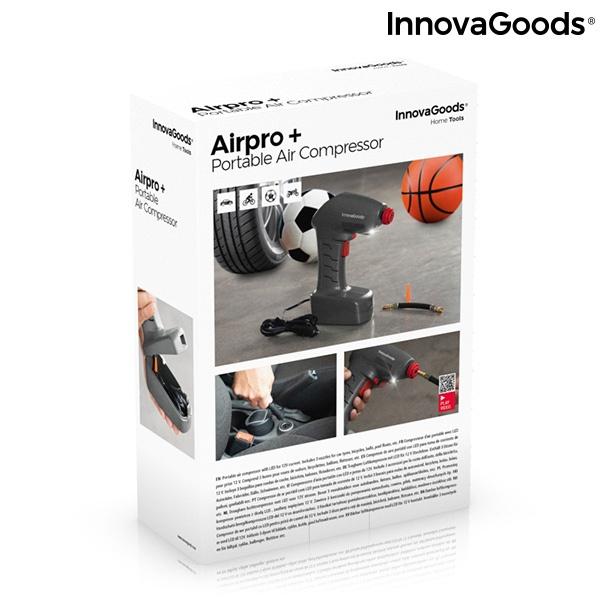 Compressor de Ar Portátil com LED Airpro+ InnovaGoods