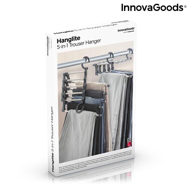 Cabide Múltiplo para Calças 5 em 1 Hanglite InnovaGoods