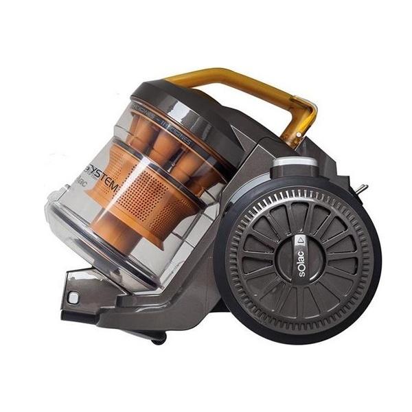 Aspirador Multiciclónico Solac AS3252 3 L 800W 80 dB (A) Laranja Preto