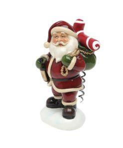 Suporte para Saca-rolhas Christmas Planet 6531 Pai natal