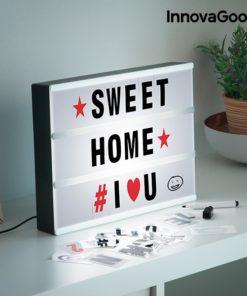 Ecrã LED para Escrever Mensagens Cinema InnovaGoods