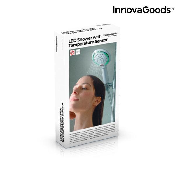 Chuveiro LED com Sensor e Indicador de Temperatura InnovaGoods