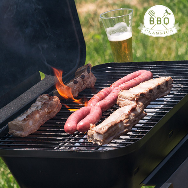 Churrasqueira a Gás com Grill BBQ Classics 1834VA