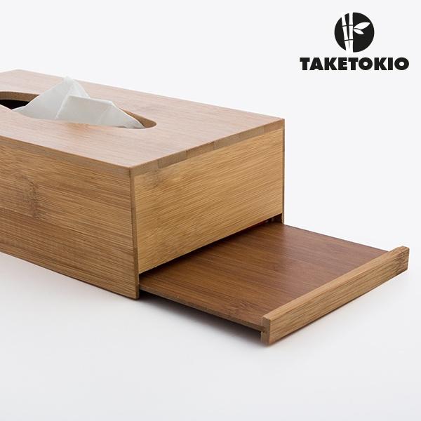 Caixa de Lenços em Bambu TakeTokio