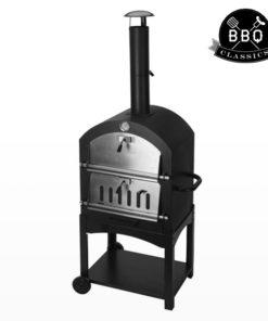 Grelhador a Carvão com Forno de Pedra BBQ Classics 1864VA