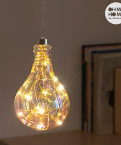 Candeeiro LED Lâmpada Retro Rainbow Oh My Home