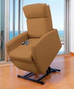 Poltrona Relax Massajadora Elevatória Cecotec Compact Camel 6006
