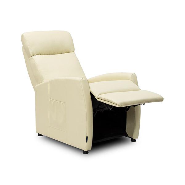 Poltrona de Massagens Bege Compact Push Back Cecotec 6181