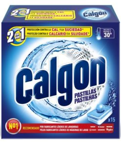 Pastilhas Anticalcário Calgón (15 Uds)