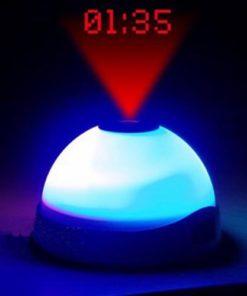 Despertador com Luz LED e Projetor