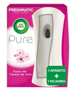 Ambientador Freshmatic Flor De Cerezo Air Wick (250 ml)