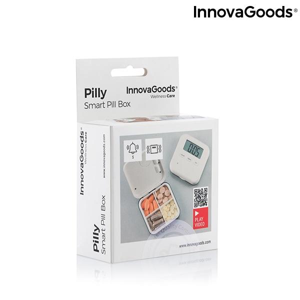 Caixa de Comprimidos Eletrónica Inteligente Pilly InnovaGoods