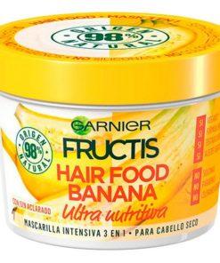 Máscara Capilar Nutritiva Ultra Hair Food Banana Fructis (390 ml)