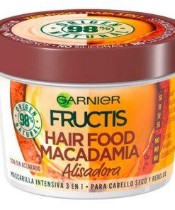 Máscara Capilar Nutritiva Alisadora Hair Food Macadamia Fructis (390 ml)