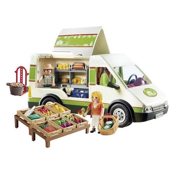 Playset Country Mobile Market Playmobil 70134 (91 pcs)