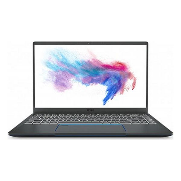 "Notebook MSI Prestige 14-067XES 14"" i7-10710U 16 GB RAM 1 TB SSD Cinzento"
